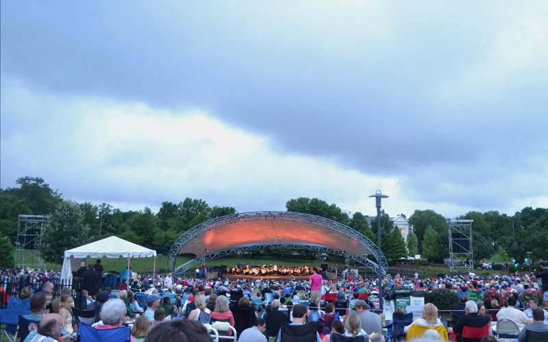 Independence day concert