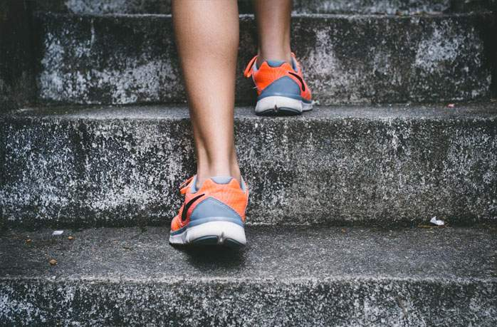 Walk On Stairs - healthy life